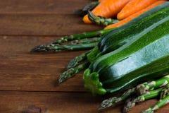 Conceito do alimento do vegetariano Produto-vegetais frescos de vegetables Foto de Stock Royalty Free