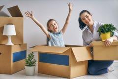 Conceito do alojamento para a família Imagem de Stock Royalty Free