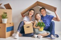 Conceito do alojamento para a família Imagens de Stock Royalty Free