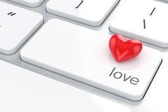 Conceito do amor Imagem de Stock
