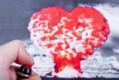 Conceito do amor Fotos de Stock