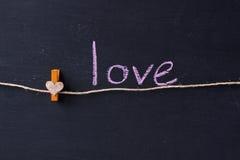 Conceito do amor imagens de stock