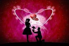 Conceito do amor Imagem de Stock Royalty Free