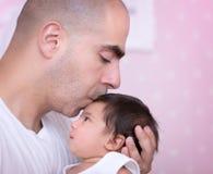 Conceito do amor de pai Fotografia de Stock Royalty Free