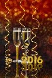Conceito do ano novo Fotografia de Stock Royalty Free