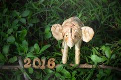 Conceito 2016 do ano novo feliz Imagens de Stock