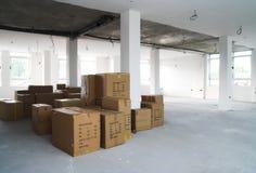 Conceito do armazém - armazenamento Fotografia de Stock