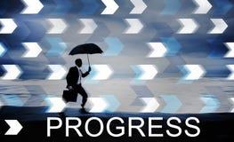 Conceito do avanço do crescimento do desenvolvimento do progresso fotos de stock royalty free