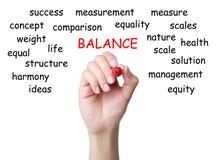 Conceito do balanço Imagem de Stock