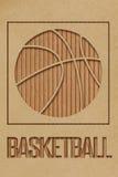 Conceito do basquetebol Imagens de Stock Royalty Free