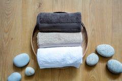 Conceito do bem-estar fresco, do softness limpo e do lavagem puro acima Imagem de Stock
