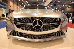 Conceito do Benz de Mercedes uma classe Foto de Stock Royalty Free