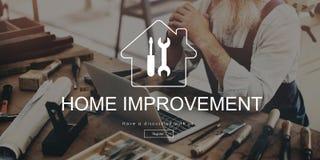 Conceito do botão do registro do Web site da melhoria home imagens de stock royalty free
