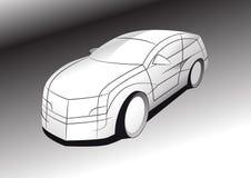 Conceito do carro ilustração do vetor