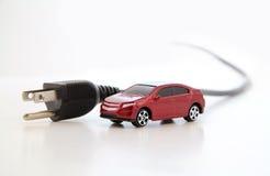 Conceito do carro elétrico Fotografia de Stock Royalty Free
