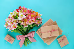 Conceito do cartão da celebração Imagem de Stock Royalty Free