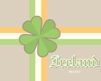 Conceito do cartão da Irlanda Ilustração Royalty Free