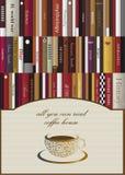 Conceito do cartão do menu do café Imagens de Stock