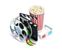 Conceito do cinema realístico Imagens de Stock