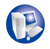 Conceito do computador Foto de Stock