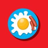 Conceito do ícone do alimento Foto de Stock Royalty Free