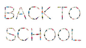 Conceito do conhecimento da infância do alfabeto das crianças do mundo Imagens de Stock