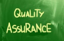 Conceito do controle de qualidade Imagens de Stock Royalty Free