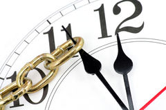 Conceito do controle de tempo Fotografia de Stock Royalty Free