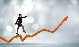Conceito do crescimento Imagens de Stock Royalty Free