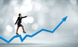 Conceito do crescimento Imagem de Stock