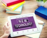 Conceito do crescimento da melhoria da inovação da nova tecnologia Foto de Stock