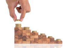 Conceito do crescimento do negócio Fotografia de Stock