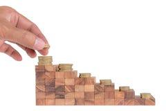 Conceito do crescimento do negócio Foto de Stock Royalty Free