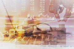 Conceito do crescimento do negócio Imagens de Stock Royalty Free