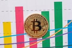 Conceito do cryptocurrency de troca foto de stock royalty free
