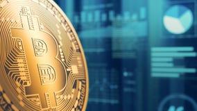 Conceito do cryptocurrency e da finança Fotografia de Stock Royalty Free
