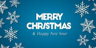 Conceito do cumprimento do Feliz Natal & do ano novo feliz ilustração stock
