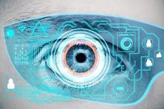 conceito do Cyberspace ilustração stock