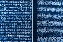Conceito do Cyberspace da codificação imagens de stock