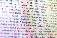 Conceito do Cyberspace da codificação Colaborador móvel do app foto de stock royalty free