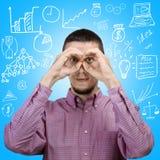 Conceito do desenvolvimento de negócios Fotos de Stock