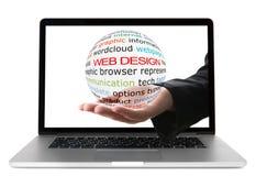 Conceito do design web fotografia de stock royalty free