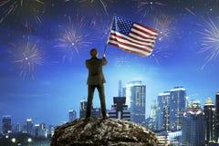 Conceito do Dia da Independência Imagem de Stock Royalty Free