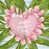 Conceito do dia de mães Eps 10 Fotos de Stock Royalty Free