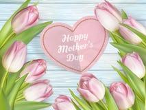 Conceito do dia de mães Eps 10 Imagem de Stock