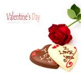Conceito do dia de Valentim Foto de Stock