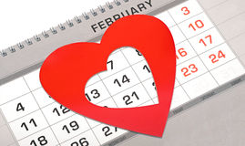 Conceito do dia de Valentim Fotografia de Stock Royalty Free