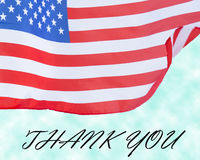 Conceito do dia de veteranos da bandeira do Estados Unidos Imagens de Stock Royalty Free