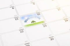Conceito do dia do ozônio do mundo Imagem de Stock Royalty Free