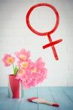 Conceito do dia do ` s da mulher Imagem de Stock Royalty Free